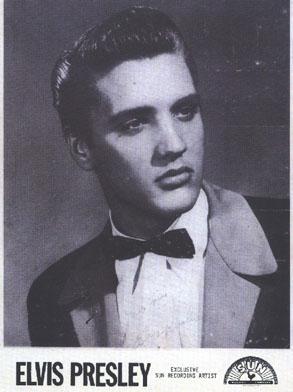 Elvis, foto promozionale della Sun Records del 1954